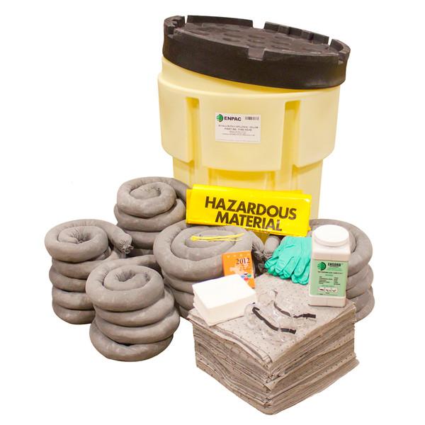 95 Gallon Poly Spillpack Spill Kit Universal Spill