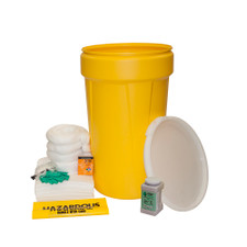 50 Gallon Oil-Only Spill Kit with Lever Lock Ring