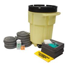95 Gallon Wheeled Poly-SpillPack Spill Kit - Universal