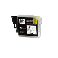 1-Pack BLACK Compatible Ink for Brother LC61BK