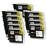 10-Pack (Black Only) Compatible Ink for Brother LC61