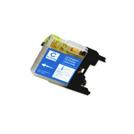 1-Pack CYAN Compatible Ink for Brother LC75C