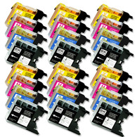 24-Pack Compatible Ink for Brother LC75