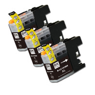 3-Pack BLACK Compatible Ink for Brother LC101 / LC103 XL