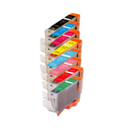 8-Pack Compatible Ink for Canon BCi-6 w/ RG