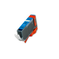 1-Pack CYAN Compatible Ink w/ Chip for Canon CLI-221