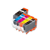 50-Pack Compatible Ink w/ Chip for Canon PGI-220/CLI-221