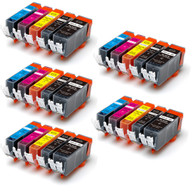 25-Pack Compatible Ink w/ Chip for Canon PGI-225/CLI-226