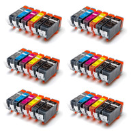 36-Pack Compatible Ink w/ GREY for Canon PGI-225/CLI-226