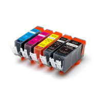 5-Pack Compatible Ink w/ Chip for Canon PGI-225/CLI-226