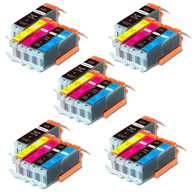 25-Pack Compatible Ink w/ Chip for Canon PGI-250XL / CLI-251XL