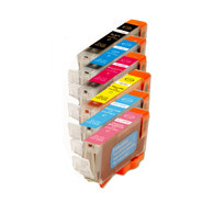 6-Pack Canon CLI-8 Compatible Ink w/ chip