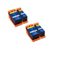 4-Pack Compatible Ink Cartridges for Dell Series 21
