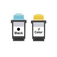 2-Pack Lexmark #50 #20 Set Ink Cartridge - Remanufactured