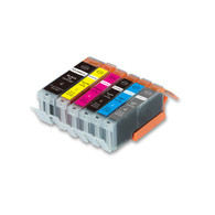 6-Pack Compatible Ink w/ Chip for Canon PGI-270XL/CLI-271XL