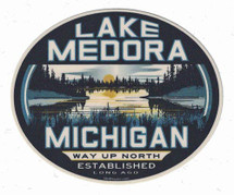 Lake Medora Sticker