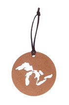 Great Lakes Copper Disk Ornament