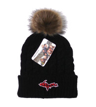 Plaid U.P. Winter Hat - Black