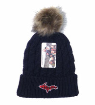 Plaid U.P. Winter Hat - Navy
