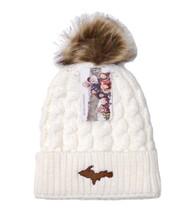U.P. Winter Hat - Cream/Brown