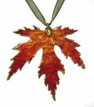 Silver Maple - Burnt Orange