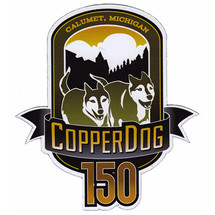 Copper Dog 150 Car Magnet
