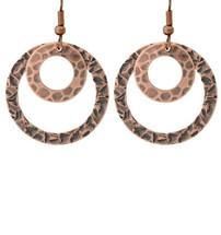 Copper Earrings - 177