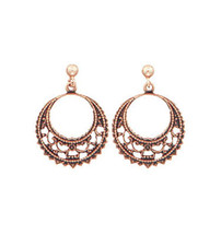 Copper Earrings - 048