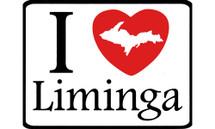 I Love Liminga Car Magnet