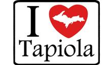 I Love Tapiola Car Magnet