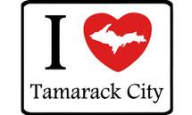 I Love Tamarack City Car Magnet