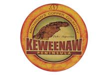 Keweenaw Peninsula Sticker