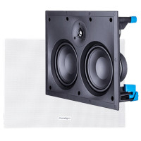 Paradigm CS-LCR v3 Bezel Free In-Wall Speaker in Paintable White (Each)