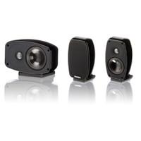 Paradigm Cinema 100 3.0 Stand/Wall Mount L/C/R Speakers in Black Gloss (3 Speakers)