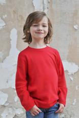 Boys Long Sleeve RED Tee