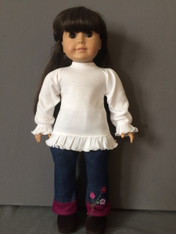 Doll Ruffle Long Sleeve