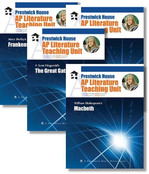 Novel units lesson plans teachers pet publications ap literature units these literature teaching fandeluxe Gallery