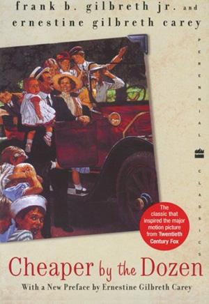 Cheaper by the Dozen by Frank Gilbreth Teacher Guide, Lesson Plans, Novel Unit