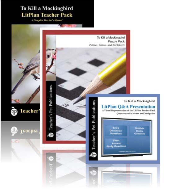 Combo Packs Give You Complete Tools For Teaching Literature!
