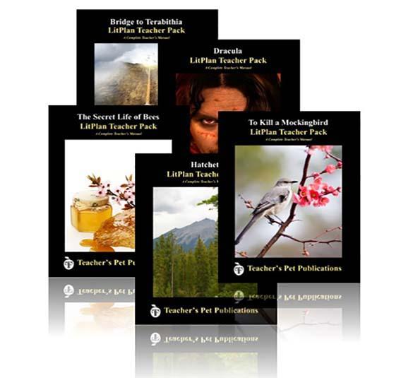 Novel units lesson plans teachers pet publications litplan literature lesson plans are excellent novel units fandeluxe Gallery