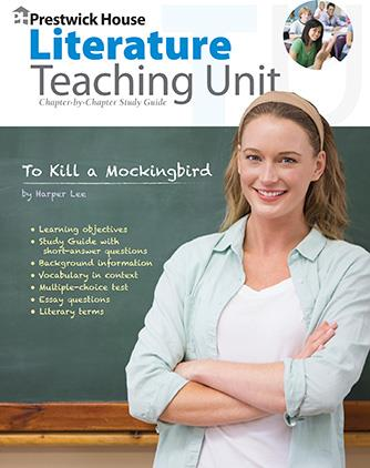 Prestwick House Teaching Units for Novels