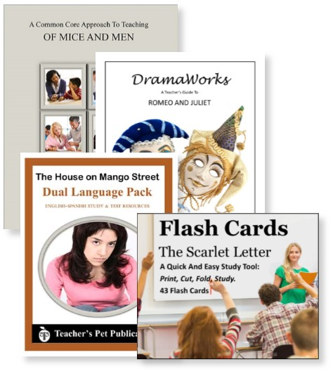 Novel units lesson plans teachers pet publications more resources for teaching literature from teachers pet publications our common core fandeluxe Gallery