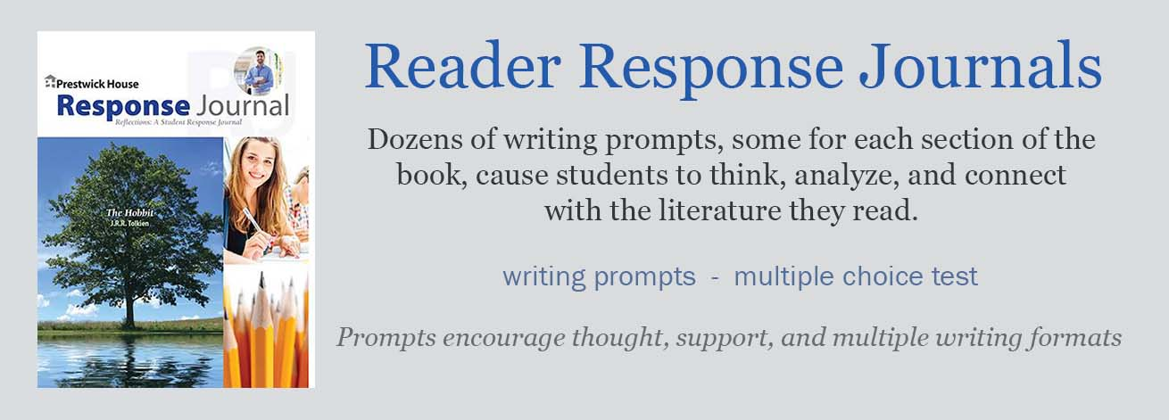 Reader Response Journals for Novels provide questions for students to respond to, for each section of the novel. Help your students get more from your novel unit of study by responding to thought-provoking questions that encourage critical thinking!