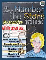 Number the Stars Novel Study Flip Book