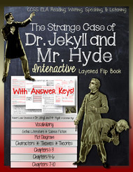 Dr. Jekyll and Mr. Hyde Novel Study Flip Book