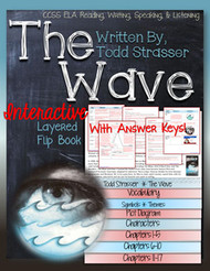 The Wave Novel Study Flip Book