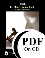 1984 LitPlan Lesson Plans (PDF on CD)