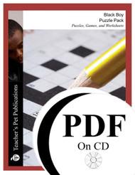 Black Boy Puzzles, Worksheets, Games | Puzzle Pack