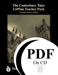 The Canterbury Tales Lesson Plans | LitPlan Teacher Pack CD