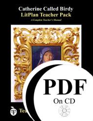 Catherine Called Birdy LitPlan Lesson Plans (PDF on CD)